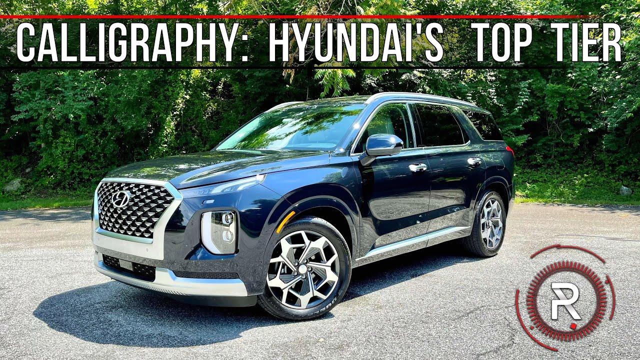 The 2021 Hyundai Palisade Calligraphy is a Genesis-Like Luxury 3-Row SUV