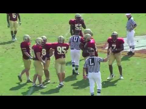 Averett @ Bridgewater 9-5-09 #95 Joel Francis