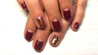 Дизайн ногтей гель-лак shellac - Слайдер дизайн ногтей (видео уроки дизайна ногтей)