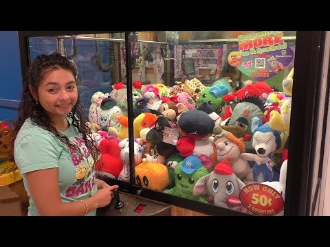 Quick Claw Machine Wins At Toys R Us