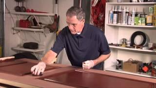 how to stain jeld wen fiberglass doors