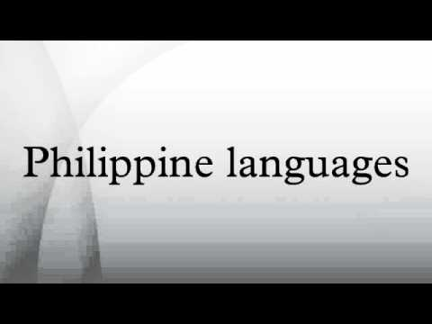 Philippine languages
