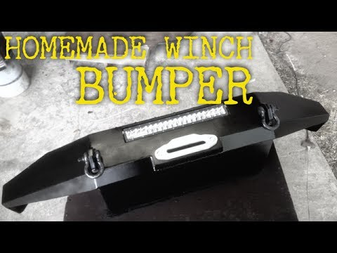 Homemade Winch Bumper for Ram 2500