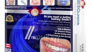 Canadian Smile Clinics Promo - Teeth whitening
