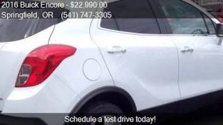 2016 Buick Encore Base 4dr Crossover for sale in Springfield