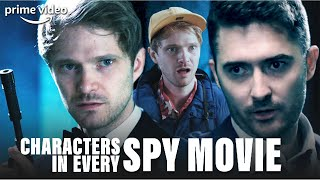 Spy Movie Stereotypes: Every Character Ever | Prime Video