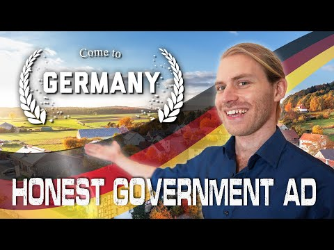 Honest Government Ad | Come to Germany