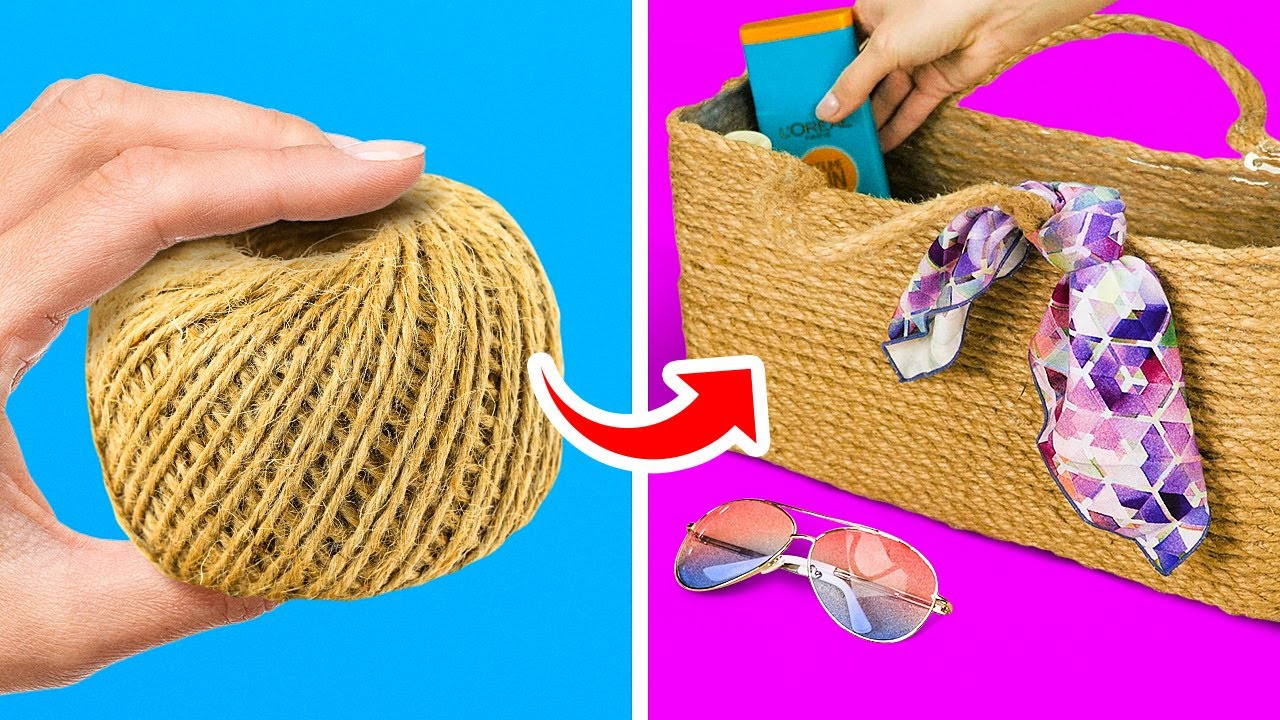 35 AMAZING DIY BAGS FOR STYLISH GIRLS || 5-Minute Recipes To Reuse Your Old Stuff!