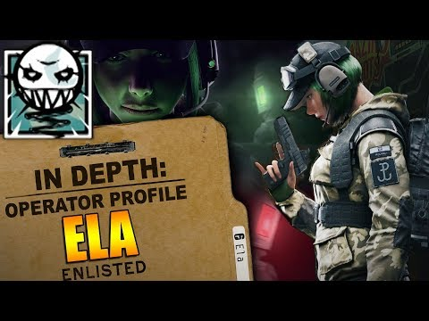 Rainbow Six Siege - In Depth: HOW TO USE ELA - OPERATOR PROFILE - TIPS AND TRICKS