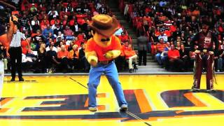 UTEP Paydirt Pete 2010 Capital One All-America Mascot Challenge Video Entry