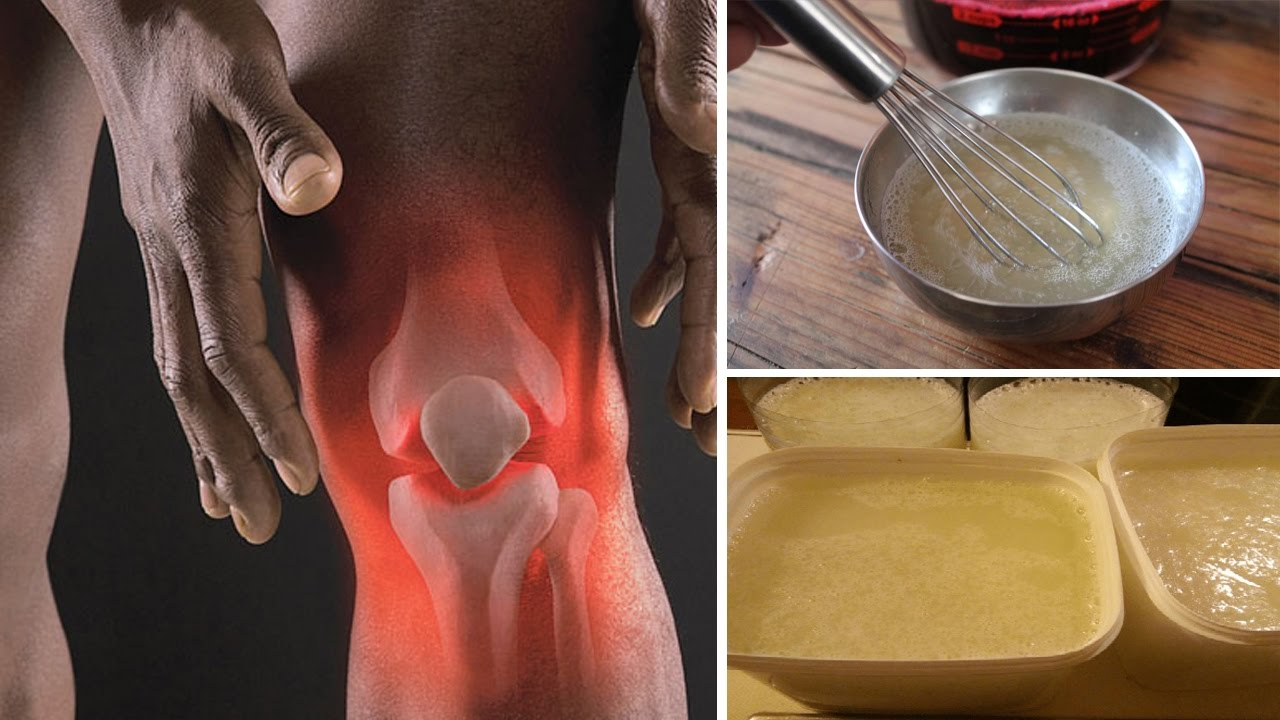 Drink Gelatin To Help Your Knee, Back and Joint Pain Disappear