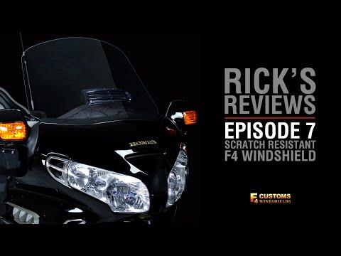 Rick's Reviews Episode 7: F4 Windshield I Goldwing Parts & Accessories I WingStuff.com