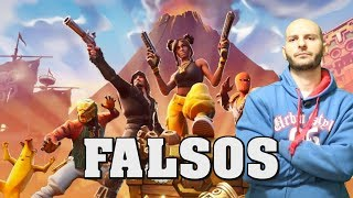 LOS VIDEOS DE YOUTUBERS DE FORTNITE - Sasel