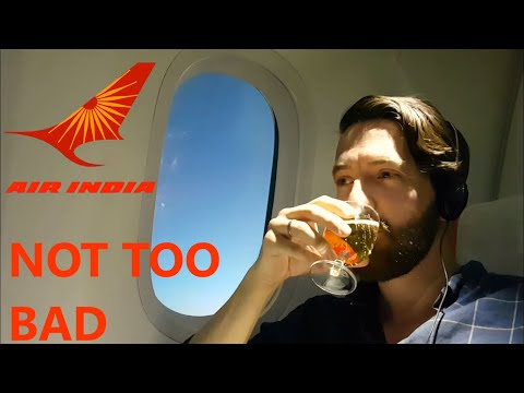Air India 787 Dreamliner Business Class review - Stockholm t