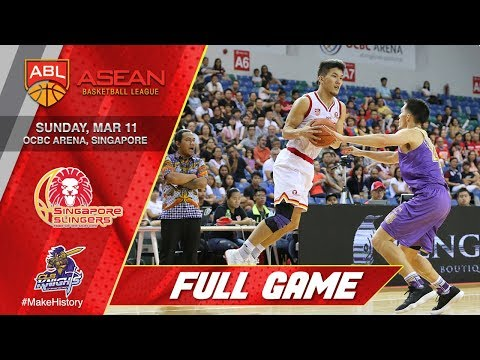 Singapore Slingers vs CLS Knights Indonesia | LIVESTREAM | 2017-2018 ASEAN Basketball League