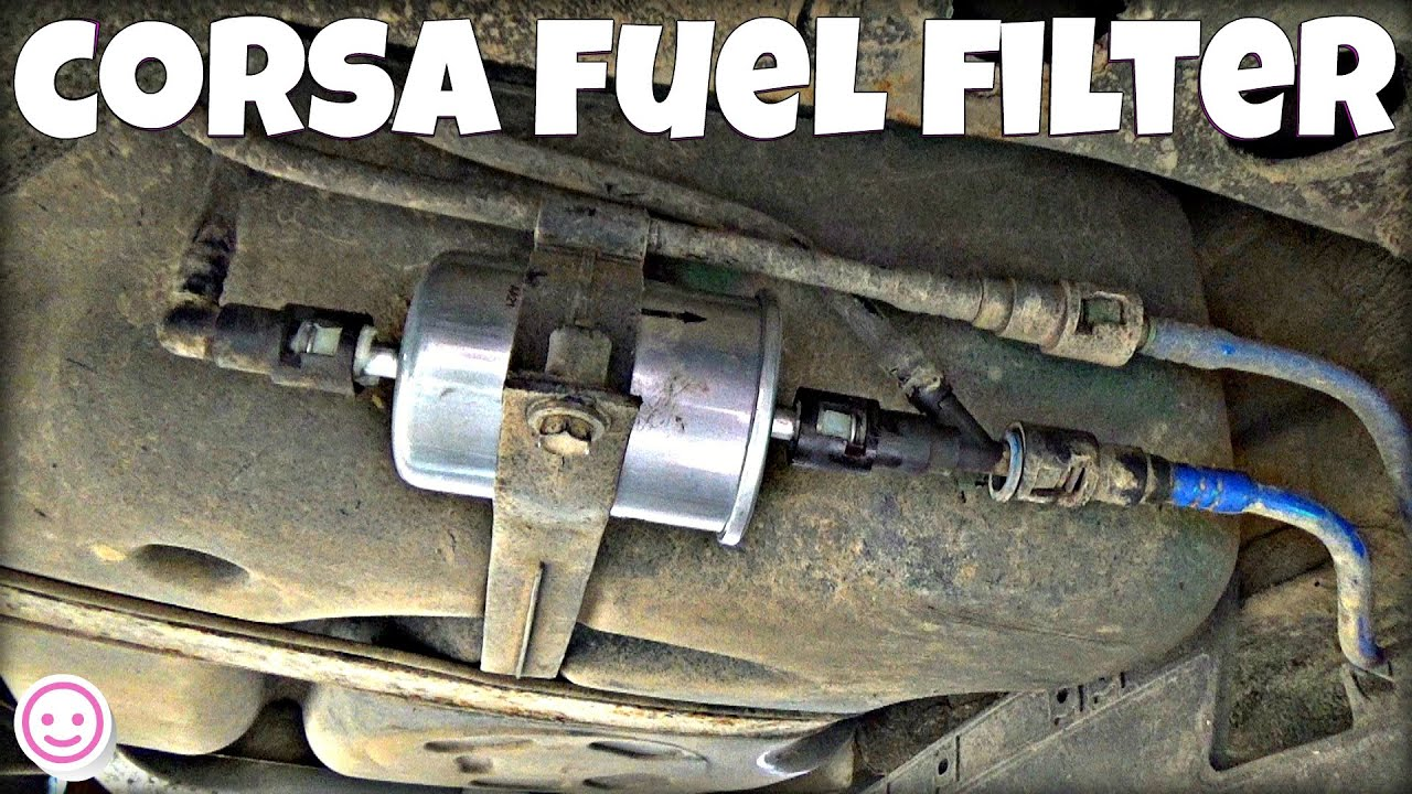 Corsa C Fuel Filter Replacement Youtube 1996 Powerstroke Housing