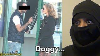 Blonde White Girl Steals Muslim Husband from Muslim Wife! HE CHEATS! | Dhokebaaz Ko Pakadna