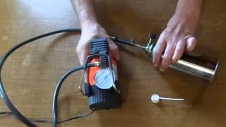 Как сделать самодельный многоразовый баллон сжатого воздуха для чистки компьютера. 清洁灰尘您的计算机