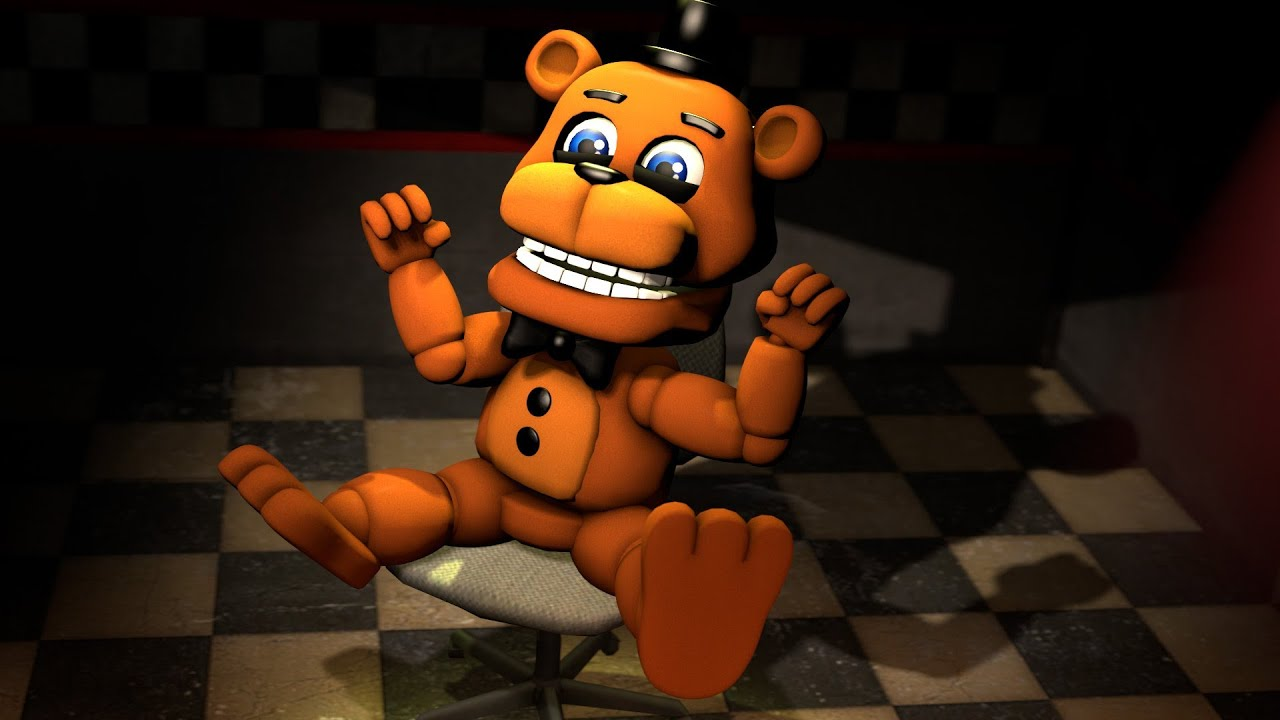 Five nights in anime sfm