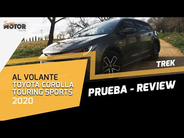 Al volante del Toyota Corolla Touring Sports 2020 / Prueba / SuperMotor.Online / T5 - E06