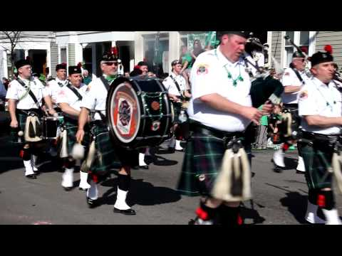 Greater Boston Firefighters Pipes & Drums St. Patty