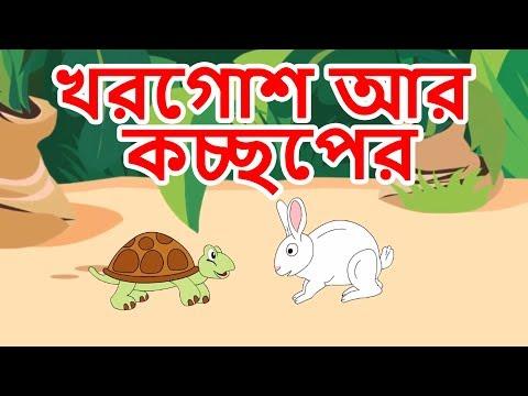 খরগোশ আর কচ্ছপের গল্প - Bangla Golpo গল্প | ঠাকুরমার ঝুলি | Bangla Cartoon | রুপকথার গল্প