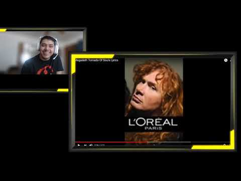 Megadeth Tornado Of Souls (REACTION)
