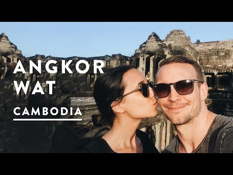 ANGKOR WAT TEMPLES IN SIEM REAP | Cambodia Travel Vlog 016, 2017