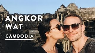 ANGKOR WAT TEMPLES IN SIEM REAP | Cambodia Travel Vlog 016, 2017