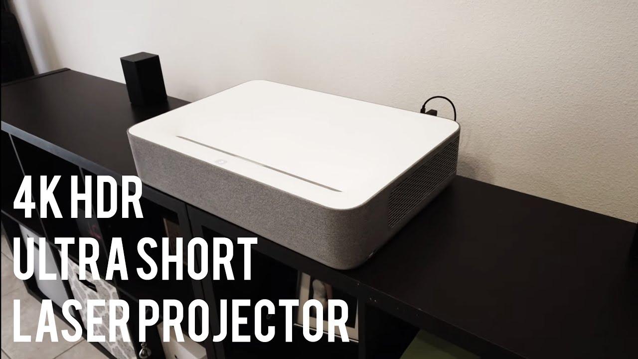 First look at VAVA VA-LT002 4K HDR Laser Ultra Short Throw Projector
