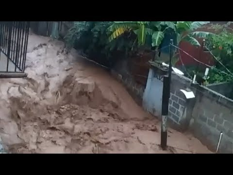 Severe Flooding in Tegucigalpa, Honduras - June 16, 2018