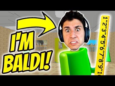I'M IN A BALDI'S BASICS MOD! | The Frustrated Gamer's Basics