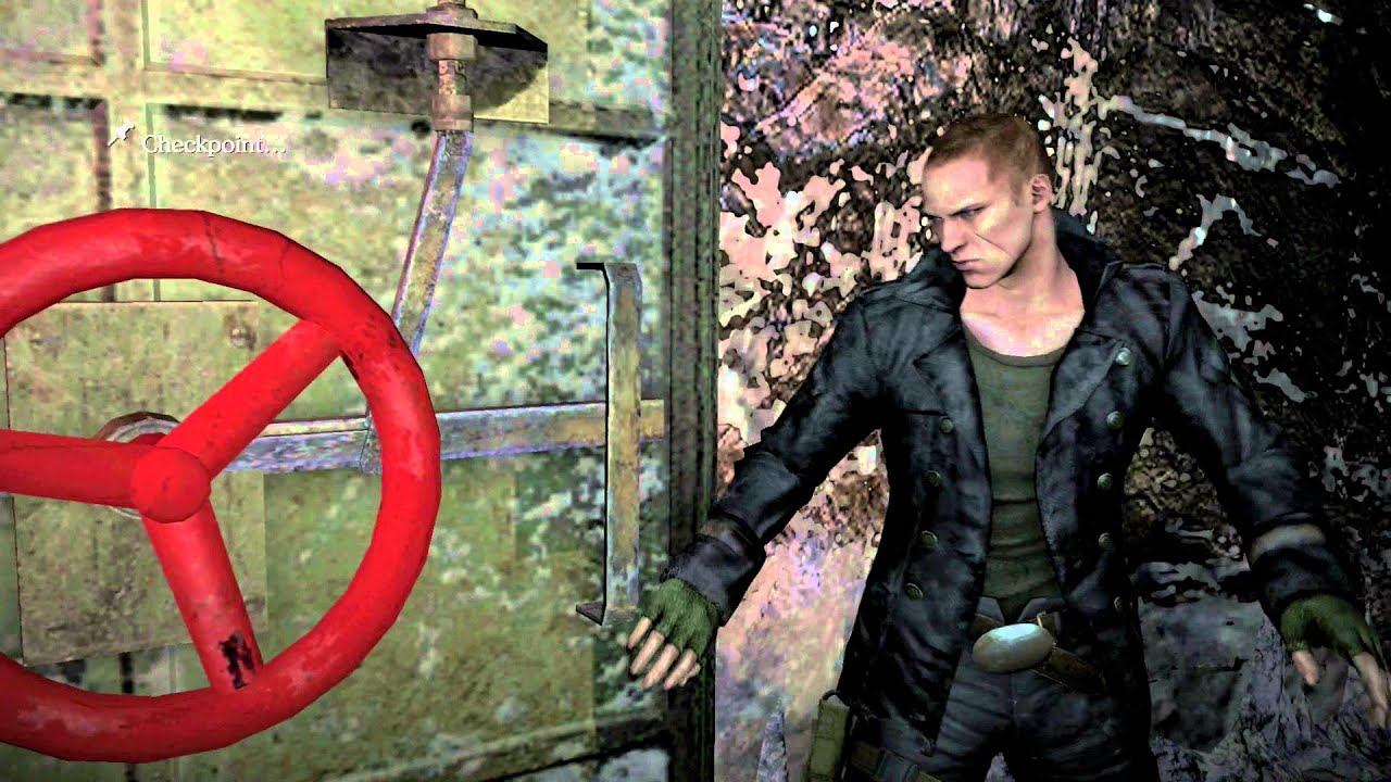 Resident Evil 6 Find The Cave Exit Take Down Ustanak Youtube