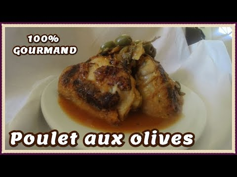 recette-facile-du-poulet-aux-olives