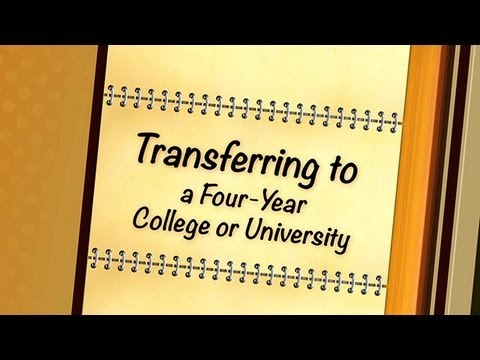 How does transferring to a university work?