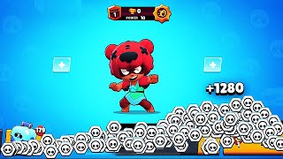 MAX POWER NITA = OVER 4:00 MINUTES in BIG GAME! // BrawlStars
