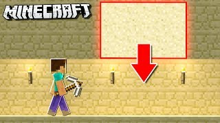 EASY Minecraft Trap WITHOUT Any REDSTONE!