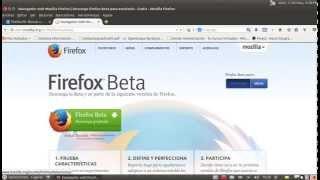 Actualizar Firefox en linux ubuntu-a la version 29 de forma facil y sencila.