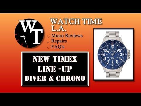 Shopping The New Timex Line - Coastline, Allied Waterbury