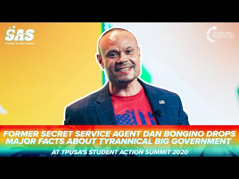 Former Secret Service Agent Dan Bongino Drops Major FACTS About Tyrannical Big Government
