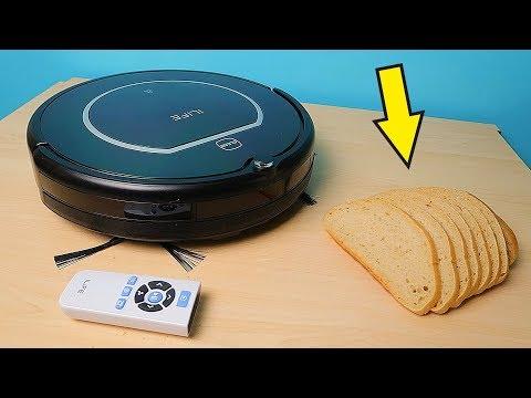 Робот пылесос ILIFE V55 Pro против Хлебных крошек и пятен на полу! alex boyko