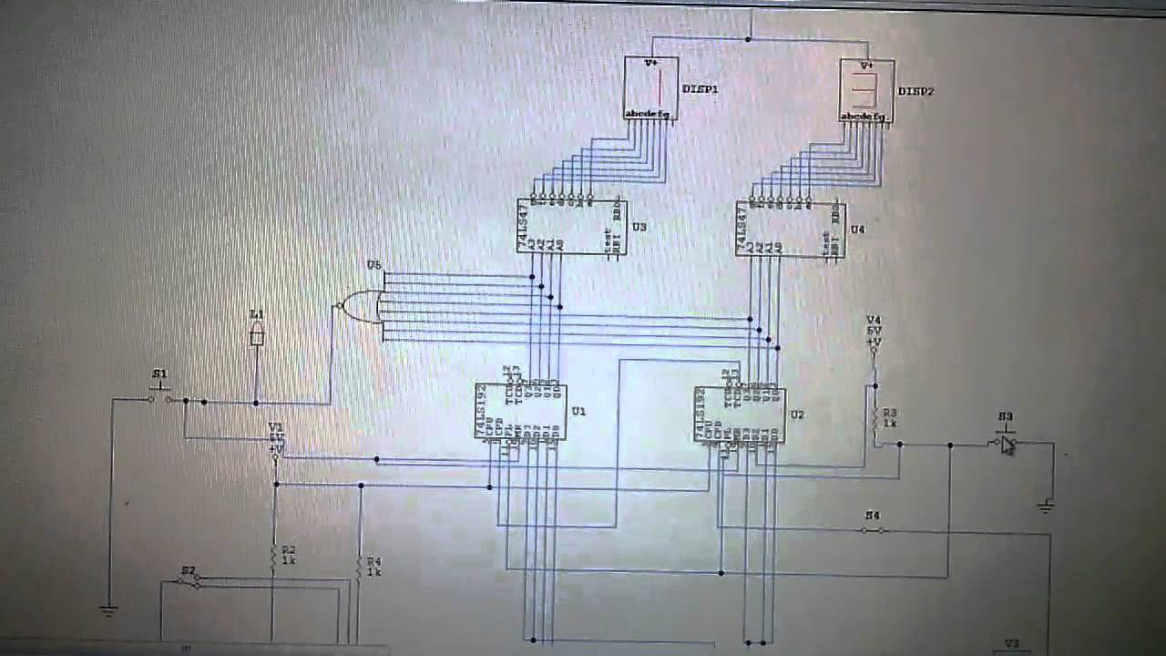 small resolution of 24s and 14s shot clock circuit