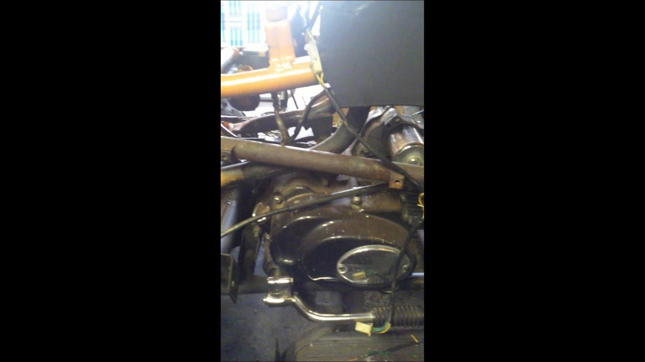 kazuma quad wiring diagram kenwood radio kdc x500 how do i hook up a harness on 110cc chine youtube