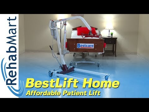 BestLift Home Care Series From BestCare - Home Patient Lift Review