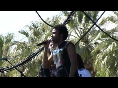 Childish Gambino - Rolling In The Deep LIVE HD (2012) Coachella Music Festival