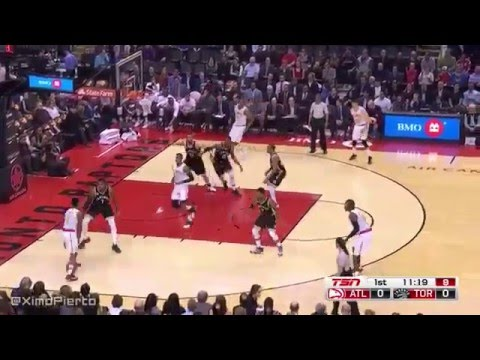 Atlanta Hawks loss vs Toronto Raptors   Full Game Highlights   March 30, 2016   NBA 2015 16 Season
