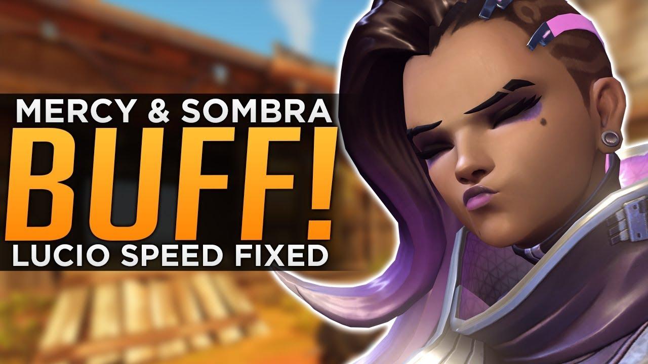100% origineel geweldige kwaliteit beperkte garantie Overwatch: HUGE Sombra BUFF Explained! - Lucio & Mercy BUFFED Again!