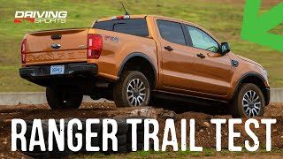 2019 Ford Ranger FX4 Off Road Trail Control Explained