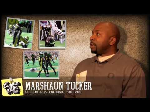Marshaun Tucker interview - Oregon Football (1999 - 2000) www.CampusAttic.com