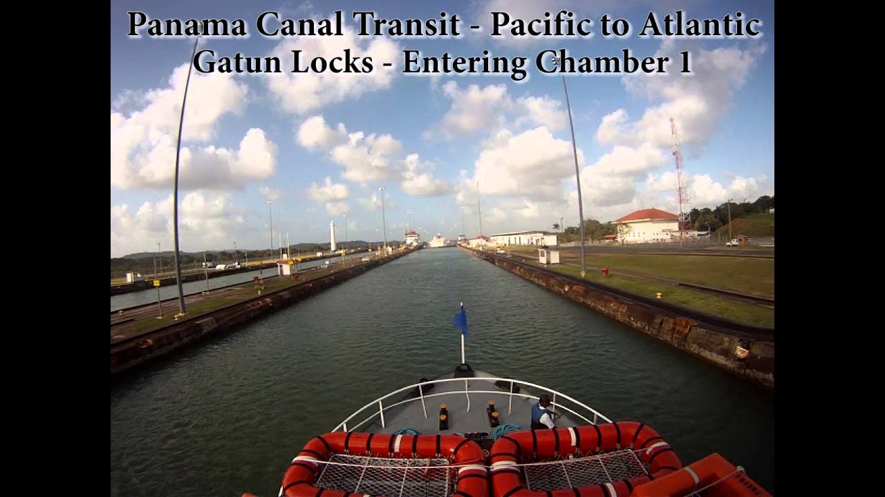canal time lapse full transit travel from the pacific canal time lapse full transit travel from the pacific ocean to the atlantic